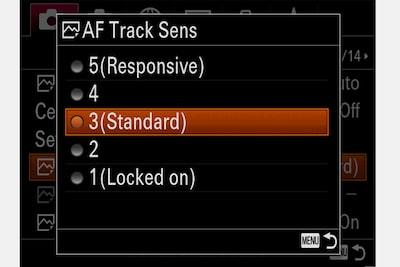 Sokoldalúbb általános AF-beállítások