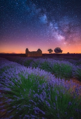 Albert-Dros-Sony-Alpha-7RII-provence-landscape-at-night-long-exposure